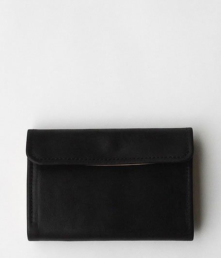ANACHRONORM Middle Wallet by BRASSBOUND [BLACK]