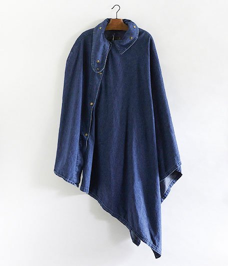 ANACHRONORM Washed Denim Smock [INDIGO]