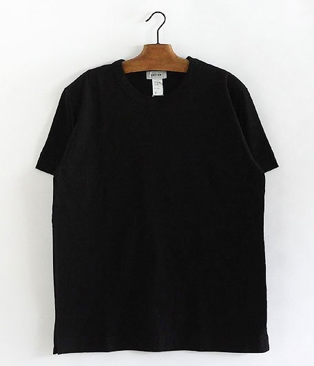 BETTER MID WEIGHT CREW NECK S/S T-SHIRT [BLACK]