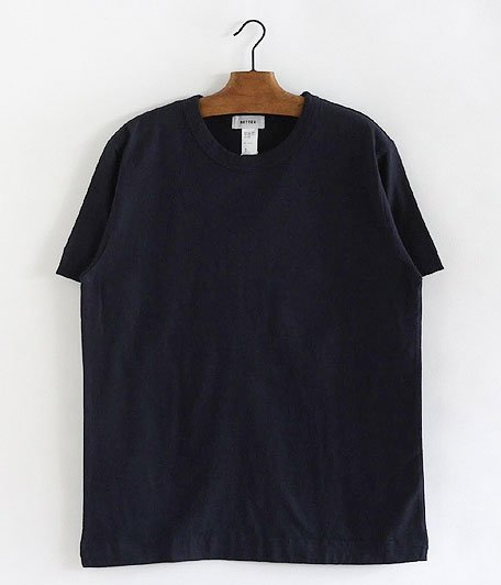 BETTER MID WEIGHT CREW NECK S/S T-SHIRT [NAVY]