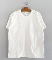 BETTER MID WEIGHT CREW NECK S/S T-SHIRT [OFF WHITE]