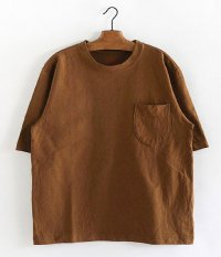 ANACHRONORM Standard Heavy Weight Pocket T-shirt [H.BROWN]