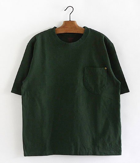 ANACHRONORM Standard Heavy Weight Pocket T-shirt [F.GREEN]
