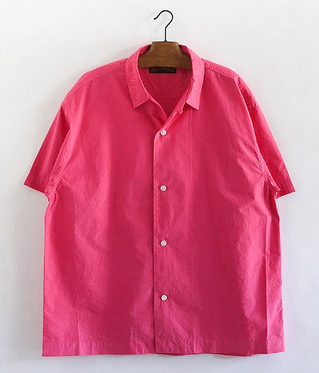 HURRAY HURRAY Open Collar Shirt [PINK]
