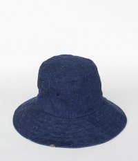 MORNINGSIDE COFFEE co M.S.C.U HAT [INDIGO]