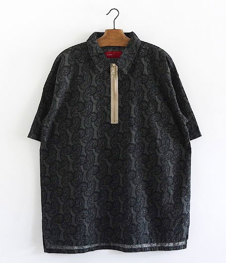 VOO Paisley Polo [BLACK]