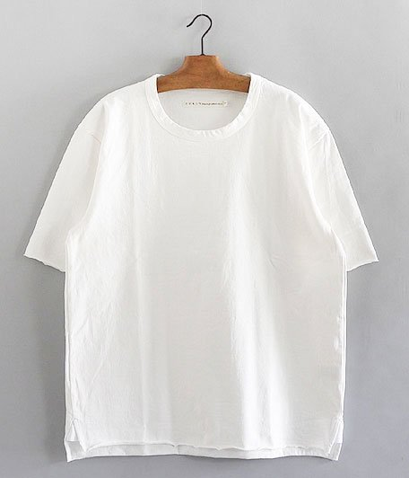 CURLY ADVANCE HS TEE [WHITE]