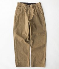 ANACHRONORM Chino Wide Trousers [BEIGE]