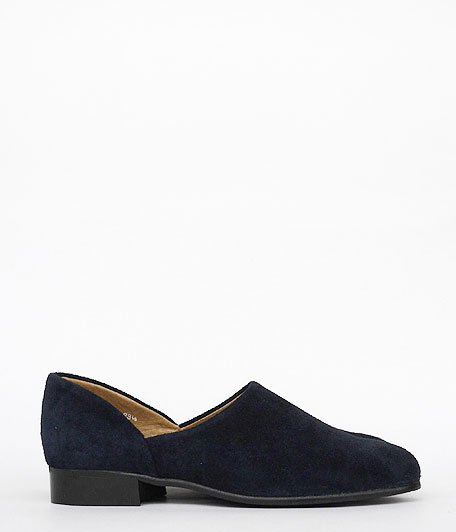 ANACHRONORM × VOO SPOCK SHOES by HARUTA LADY'S [NAVY]