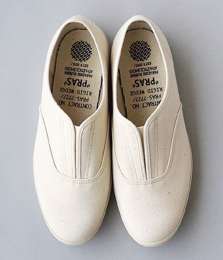 PRAS COMFY Slip-on [KINARI / OFF WHITE SOLE]