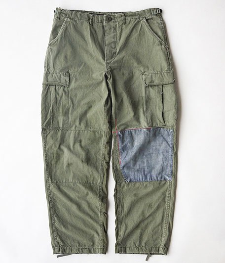ANACHRONORM Customized Field Pants Size M [OLIVE]