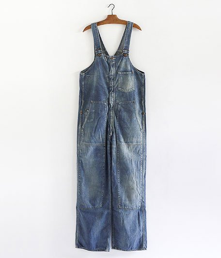 ANACHRONORM Washed Denim Overall [INDIGO]