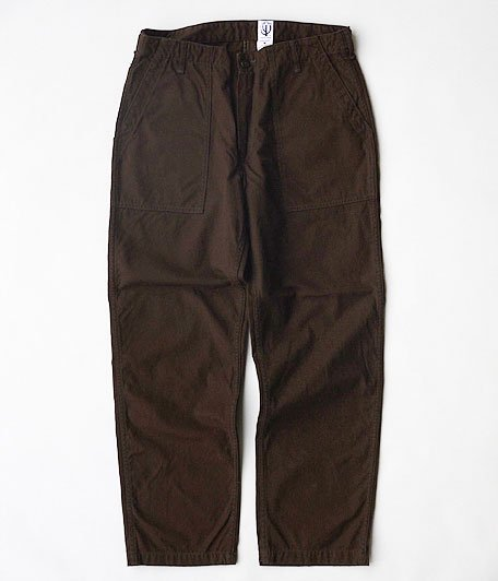 CORONA UTILITY SLACKS [COTTON DUCK / BROWN]