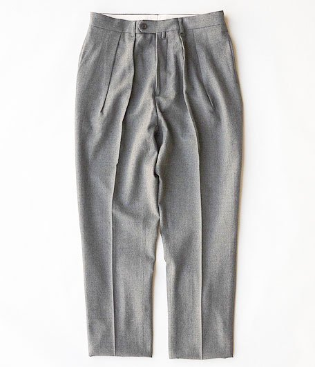 NEAT HOPSACK / TAPERED [GRAY]