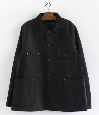 ANACHRONORM Twill Rail Road Jacket [BLACK]