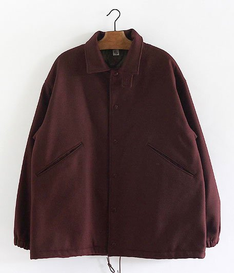 KAPTAIN SUNSHINE Coach Jacket [BURGUNDY]
