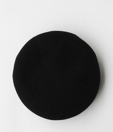 DECHO BASQUE BERET [BLACK]