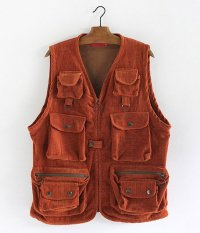 VOO CORDUROY GUIDE VEST [Lt.BROWN]