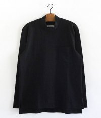 CURLY BLIGHT LS MOC NECK [BLACK]