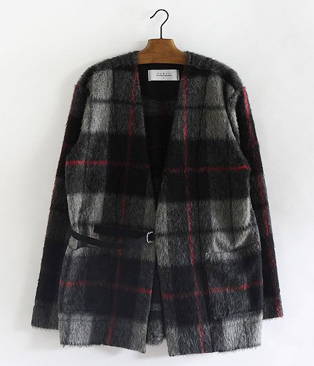 CURLY PADDINGTON CARDE [BLACK CHECK]