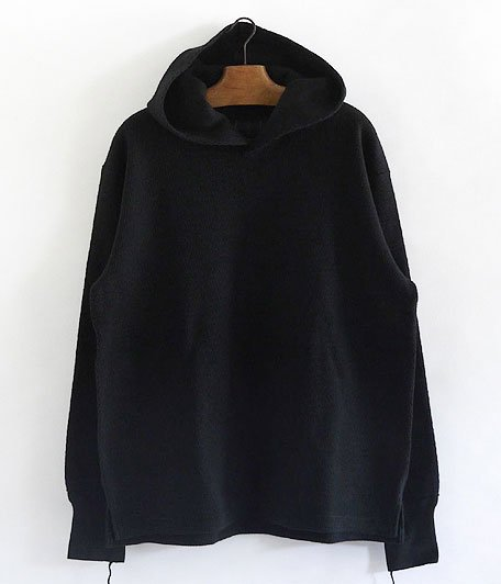ANACHRONORM Heavy Weight Thermal Hoodie [BLACK]