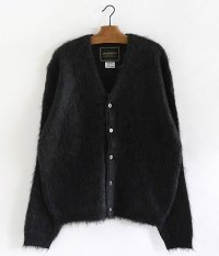 ANACHRONORM MOHAIR SWEATER CARDIGAN [BLACK]