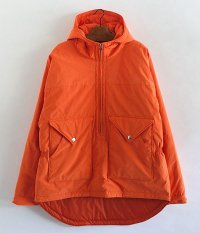 NECESSARY or UNNECESSARY VELO HOODED [ORANGE]