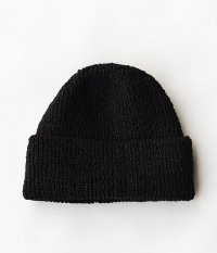NECESSARY or UNNECESSARY SILK CAP [BLACK]