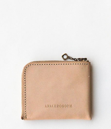 ANACHRONORM Coin Case S [NATURAL]