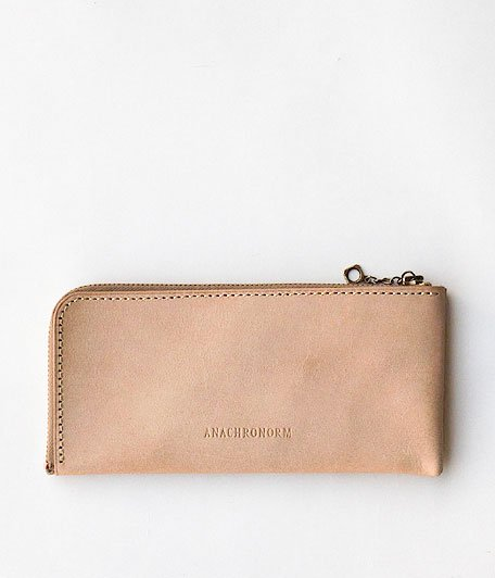 ANACHRONORM Coin Case L [NATURAL]