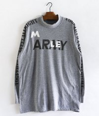 HURRAY HURRAY Composition ARMY L/S MOCK NECK TEE
