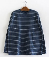 NECESSARY or UNNECESSARY Border L/S [BLUE]