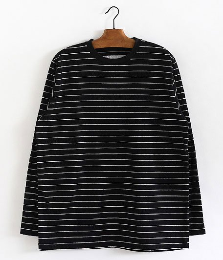 NECESSARY or UNNECESSARY Border L/S [BLACK]