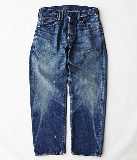 ANACHRONORM Type-α Basic Tapered Jeans [INDIGO / AGING WASH]