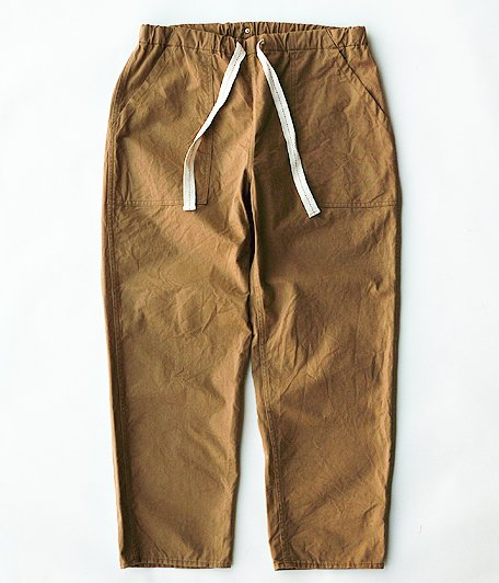 ANACHRONORM Tapered Easy Pants [BEIGE]
