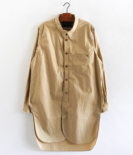 ANACHRONORM Long Shirt [BEIGE]