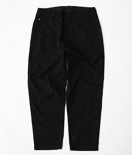 ANACHRONORM Tapered Trousers [BLACK]
