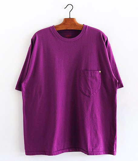 ANACHRONORM Standard Crew Pocket T-S [LAVENDER]