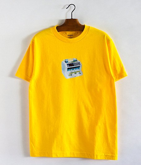 NEMES CASH COUNTER T-SHIRT [YELLOW]