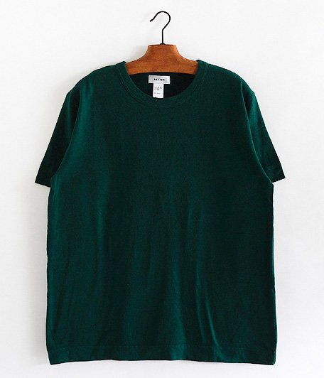 BETTER MID WEIGHT CREW NECK S/S T-SHIRT [GREEN]