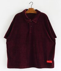 VOO Velour Relax Polo [PURPLE]