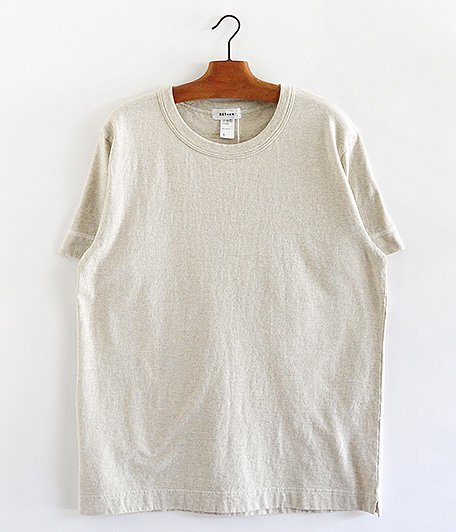 BETTER MID WEIGHT PASTEL COLOR T-SHIRT [OATMEAL]