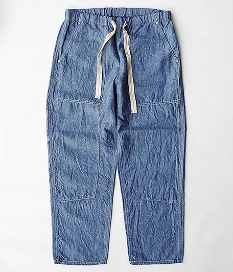 ANACHRONORM W Knee Easy Pants [INDIGO]