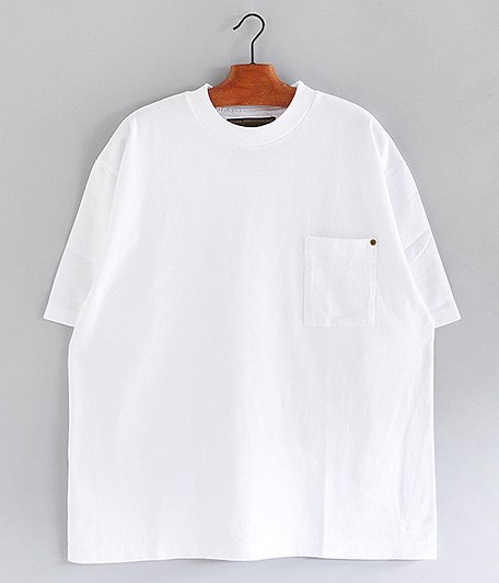 ANACHRONORM Sulfur Dye Pocket T-S [WHITE]