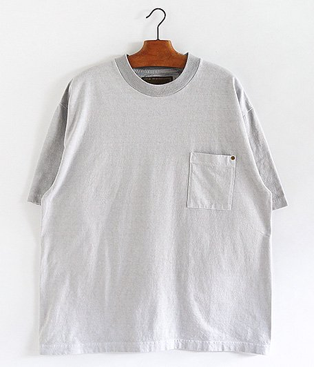 ANACHRONORM Sulfur Dye Pocket T-S [Sil.GRAY]