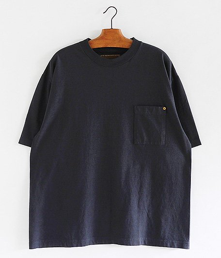 ANACHRONORM Sulfur Dye Pocket T-S [BLACK]