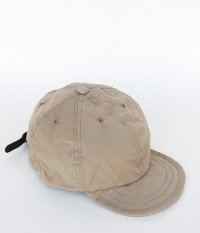 ANACHRONORM Nylon Leather Buckle Cap [BEIGE]