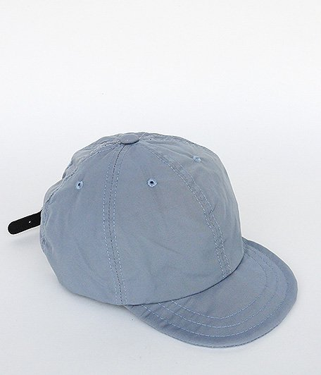 ANACHRONORM Nylon Leather Buckle Cap [BLUE GRAY]