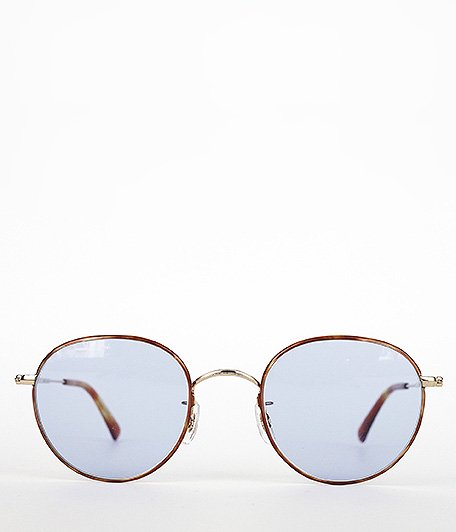 Buddy Optical Princeton enamel SG [GOLD / BLUE LENS]
