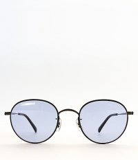 Buddy Optical Princeton enamel SG [BLACK / BLUE LENS]